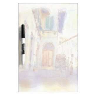Views of Florence made in artistic watercolor Dry-Erase Whiteboards