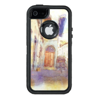 Views of Florence made in artistic watercolor OtterBox iPhone 5/5s/SE Case