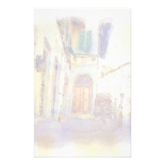 Views of Florence made in artistic watercolor Stationery