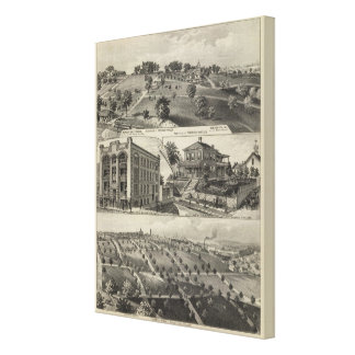 Views of Kansas City, Kansas Canvas Print