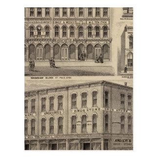 Views of Moore's and Wabashaw, Minnesota Postcard