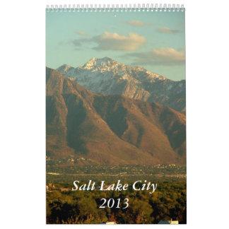 Views of Salt Lake City 2013 Wall Calendars