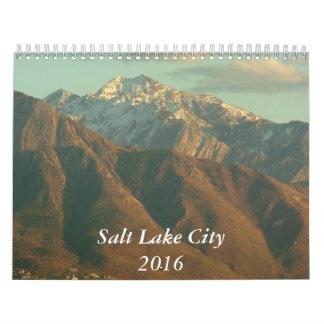 Views of Salt Lake City - 2016 Wall Calendar