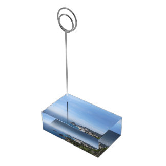Views of Spanish Coast Table Card Holder