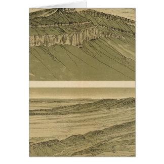 Views of the Marble Canyon Platform Greeting Card