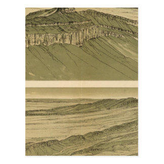 Views of the Marble Canyon Platform Postcard