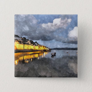 VIEWS OF WALES 15 CM SQUARE BADGE