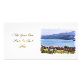 VIEWS OF WALES CUSTOMISED PHOTO CARD