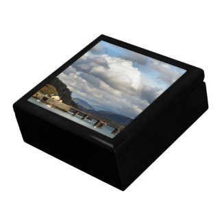 VIEWS OF WALES LARGE SQUARE GIFT BOX