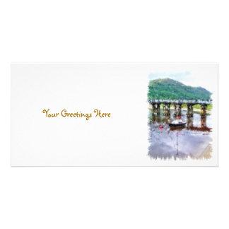 VIEWS OF WALES PHOTO GREETING CARD
