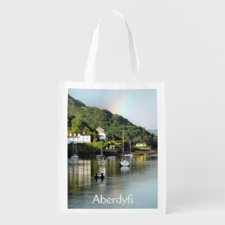 VIEWS OF WALES REUSABLE GROCERY BAG