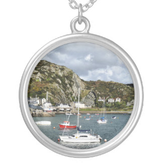 VIEWS OF WALES SILVER PLATED NECKLACE