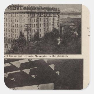 Views, Seattle Square Sticker