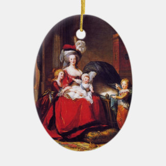 Vigée-Lebrun - Marie Antoinette and her children Christmas Ornament