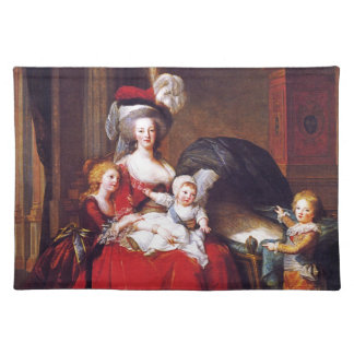 Vigée-Lebrun - Marie Antoinette and her children Placemat