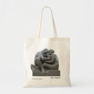 Vigeland sculpture (Oslo, Norway) - tote bag