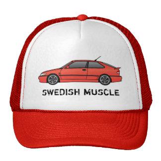 viggen_Red, SWEDISH MUSCLE Cap