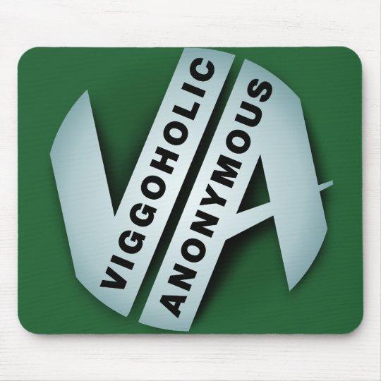 Viggoholic Anonymous green Mouse Pad