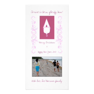 Vigil Light Photo Greeting Card