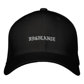Vigilance Embroidered Baseball Caps