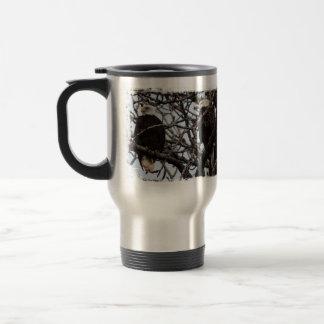 Vigilant Bald Eagles Stainless Steel Travel Mug
