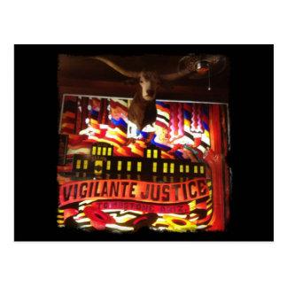Vigilante Justice Tombstone Arizona Postcard
