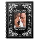 Vignette Bride's Wedding Planner Notebook (black)