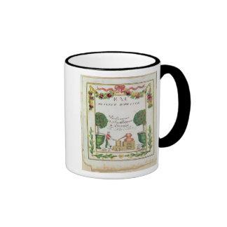 Vignette of Eau de Fleur d Orange Mugs