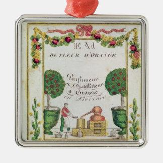 Vignette of 'Eau de Fleur d'Orange' Christmas Ornament