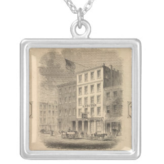 Vignette of retail establishment Advertisement Silver Plated Necklace