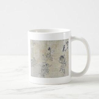 Vignettes of supernatural beings coffee mugs