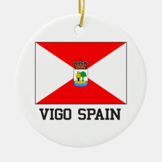 Vigo Spain Christmas Ornament