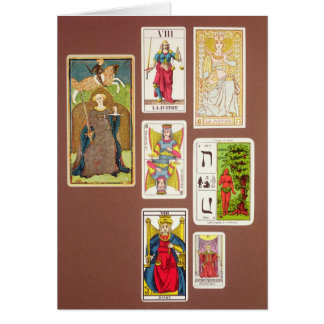 VIII Justice, seven tarot cards