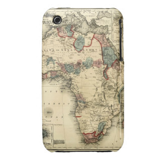 Viintage 1874 Map of Africa  Antique African Print iPhone 3 Cases