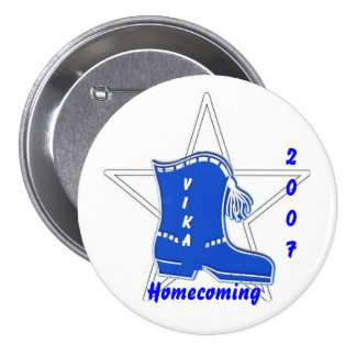 Vika Homecoming 3 7.5 Cm Round Badge