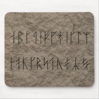 Viking Alphabet Mouse Mat
