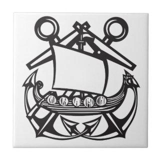 Viking Anchor Tile