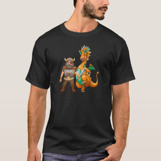 Viking and dragon T-Shirt