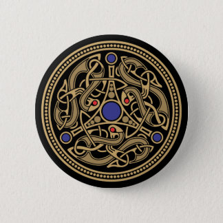Viking Art Design 6 Cm Round Badge