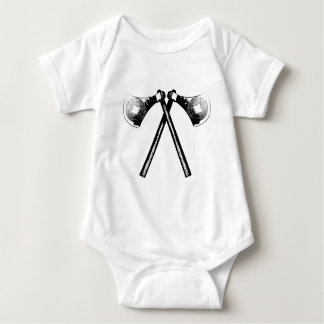 Viking Axe Baby Bodysuit
