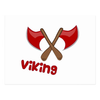 Viking Axe Postcard