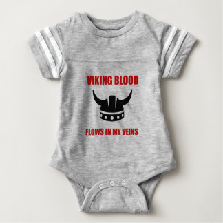 Viking Blood Baby Bodysuit