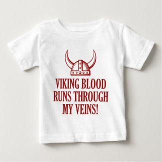 Viking Blood Runs Through My Veins Baby T-Shirt