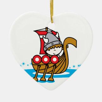 Viking Boy Christmas Ornament