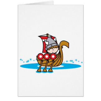 Viking Boy Greeting Card