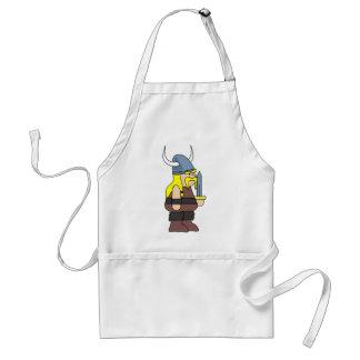 Viking cartoon standard apron