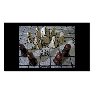 Viking chess game pack of standard business cards