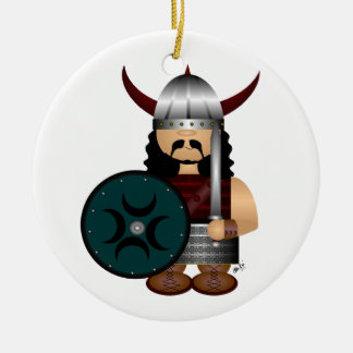 Viking Christmas Ornament