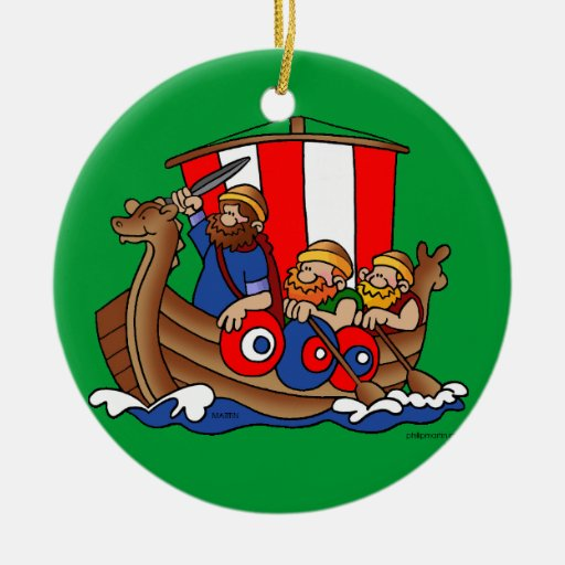 Viking* Christmas Ornament   Viking julprydnad