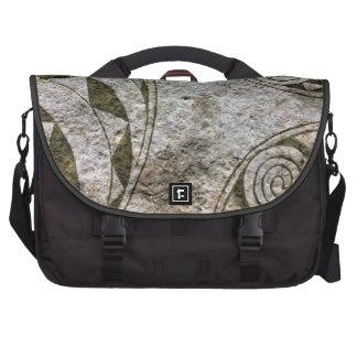 Viking Circular Stone Carvings Messenger Bag Laptop Bags
